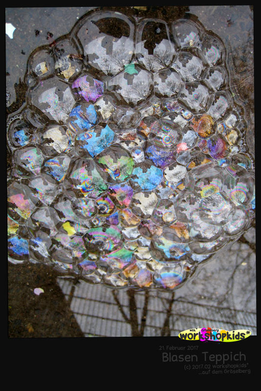 Blasen Teppich . workshopkids*