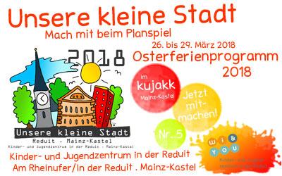 Unsere kleine Stadt . 2018 . Kinderspielstadt Wiesbaden . Mainz-Kastel