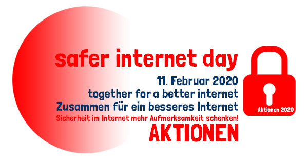 safer internet day . Aktionen . 11. Februar 2020 . explorerkids* . graeelcityteens