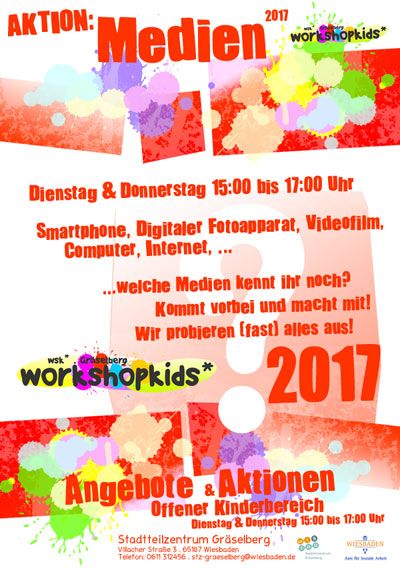 Aktion: Medien 2017 . workshopkids