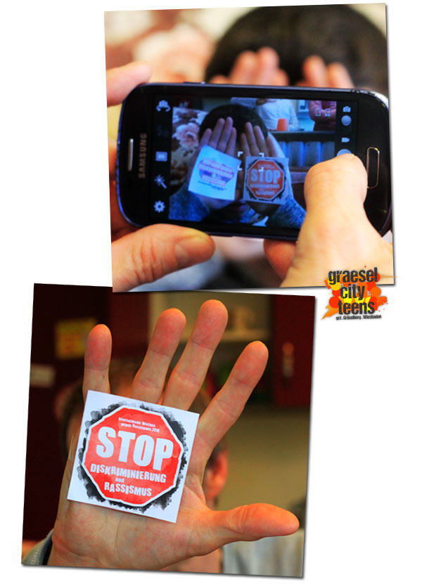 STOP . Diskriminierung & Rassismus