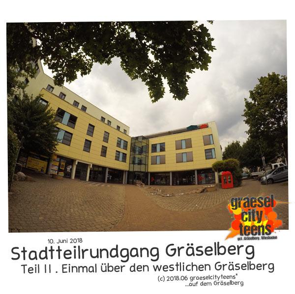 Stadtteilrundgang Gräselberg . 10. Juni 2018 . graeselcityteens