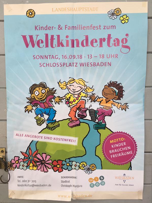 Stadtteilzentrum Gräselberg . ...ist auch mit dabei! . Weltkindertagsfest 2018
