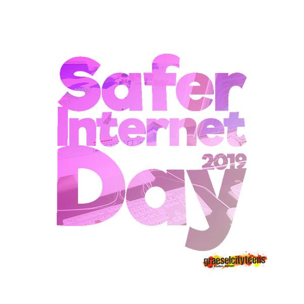 Saver Internet Day 2019 . graeselcityteens . gct .  Stadtteilzentrum Gräselberg . Wiesbaden