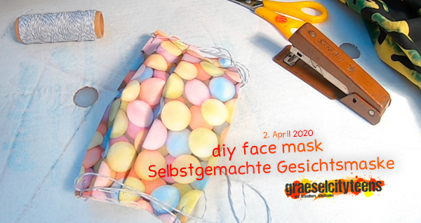 diy face mask . Selbstgemachte Gesichtsmaske ...schützt andere und somit auch euch selbst . 2. April 2020 . graeselcityteens . Balkon . Wiesbaden . planet earth