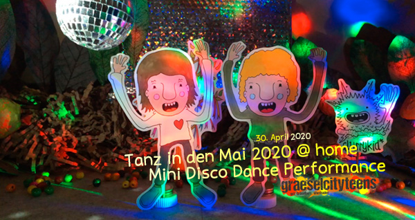 Tanz in den Mai 2020 @ home . stop motion Film . Mini Disco Dance Performance . 30. April 20 . Stage/Bühne . Wiesbaden . planet earth