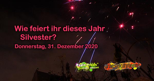 Wie feiert ihr dieses Jahr Silvester? . ...happy new year 2021 . 31. Dezember 2020 . explorerkids* . Entdecker Werkstatt im kujakk . kujakk . Kinder- und Jugendzentrum in der Reduit . Mainz-Kastel . & . gct . graeselcityteens ...auf dem Gräselberg . Stadtteilzentrum Gräselberg . Wiesbaden